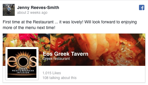 Jenny Reeves-Smith Facebook Review