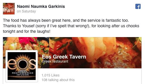 Naomi Naumka Garkinis facebook Review