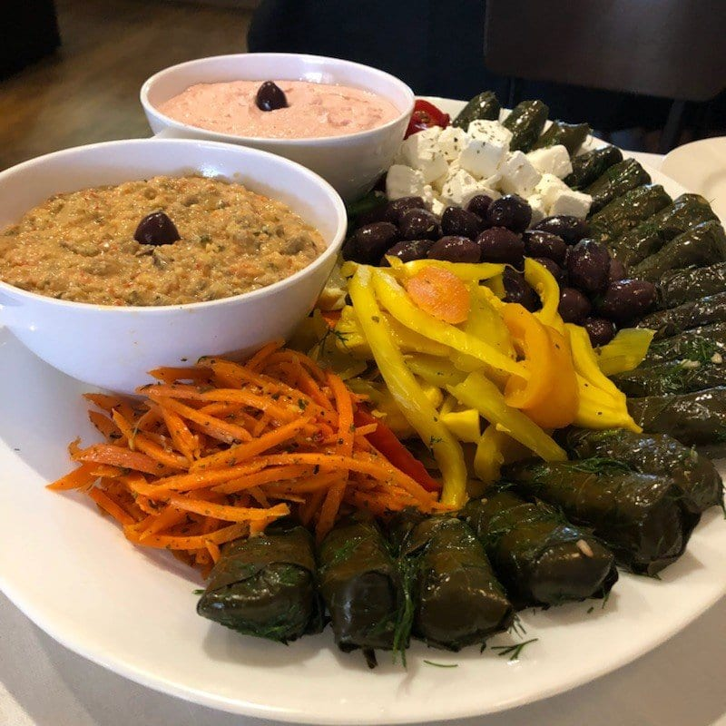 Eos greek tavern - some of our favourite dishes